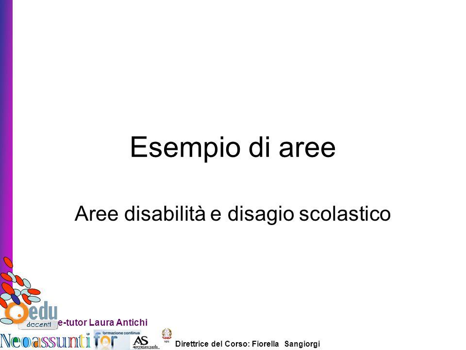Aree disabilità e disagio scolastico