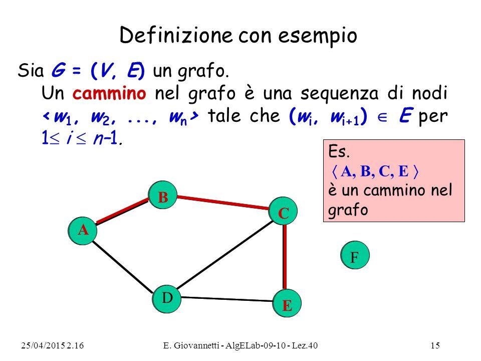 Definizione con esempio