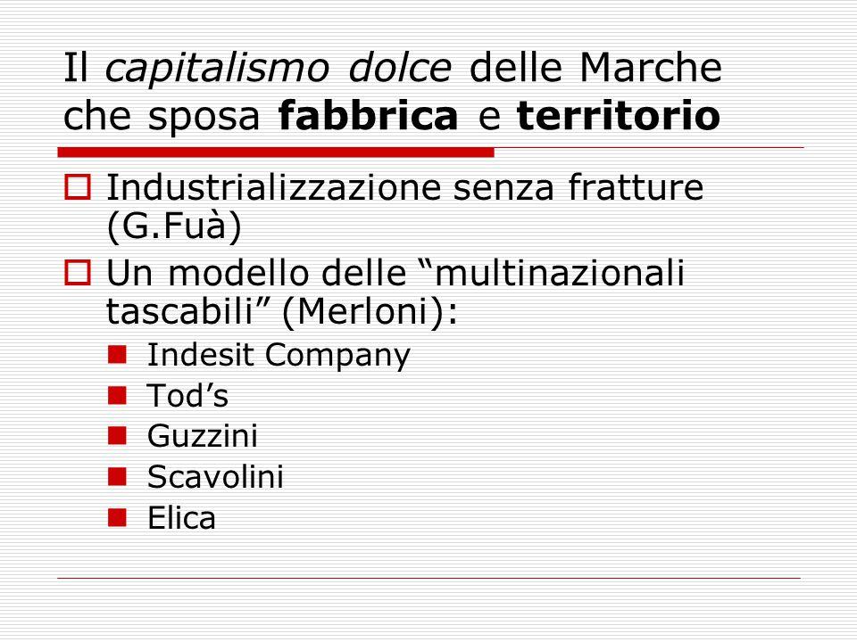Il capitalismo dolce delle Marche che sposa fabbrica e territorio