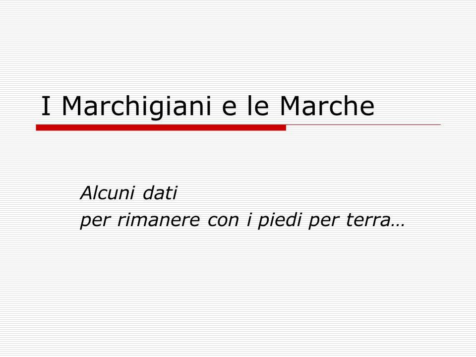I Marchigiani e le Marche
