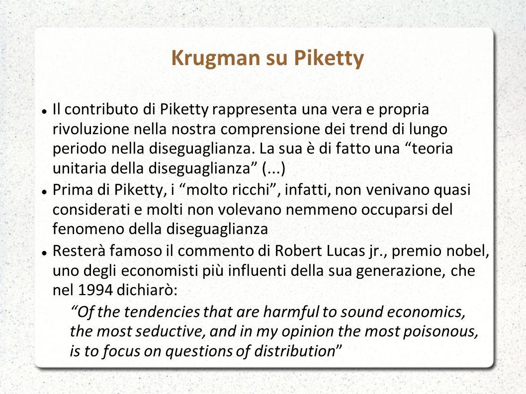 Krugman su Piketty