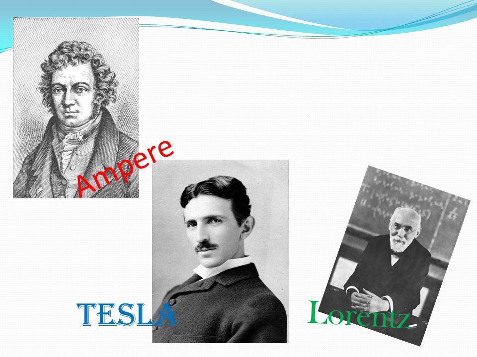 Ampere Tesla Lorentz