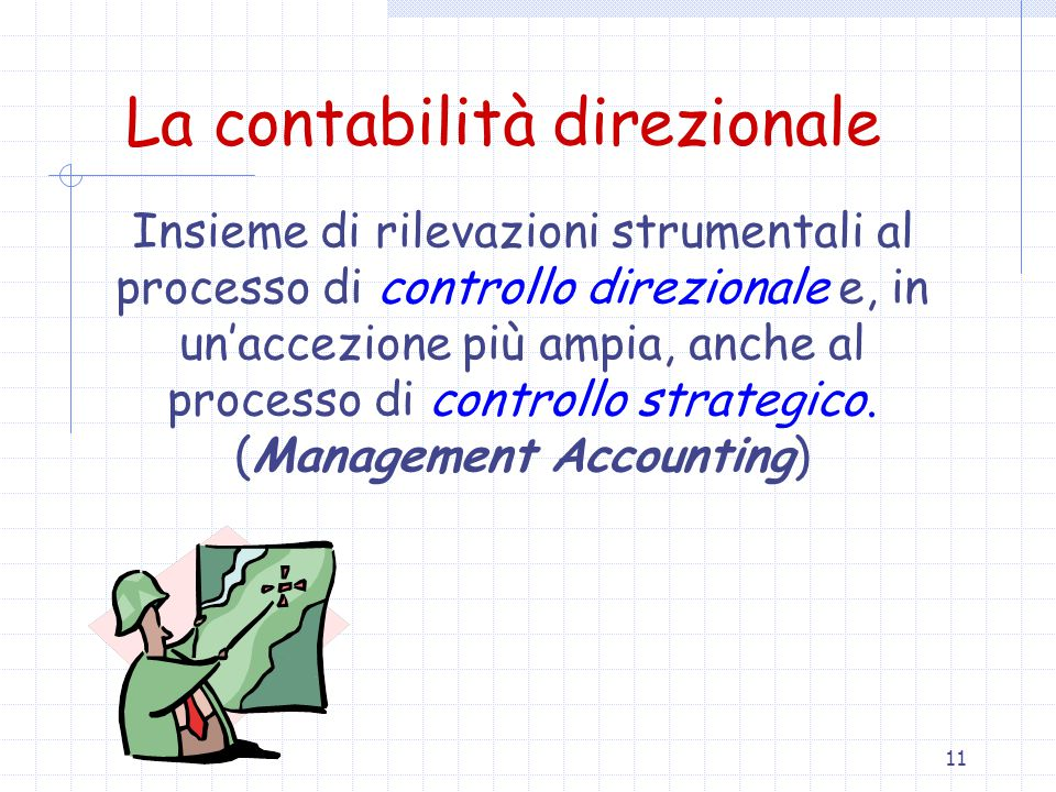 La contabilità direzionale