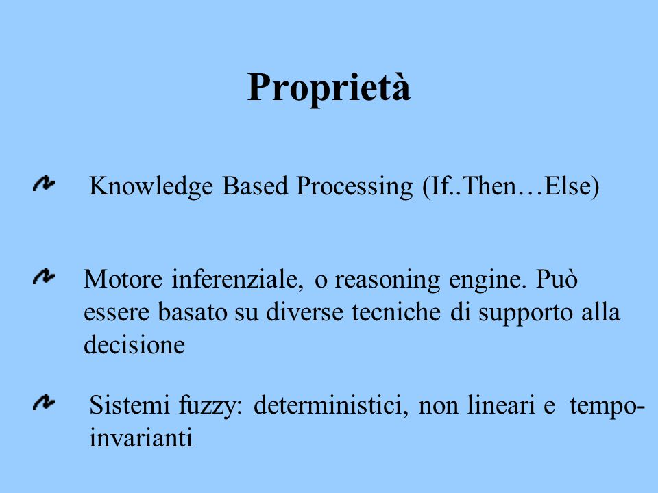 Proprietà Knowledge Based Processing (If..Then…Else)
