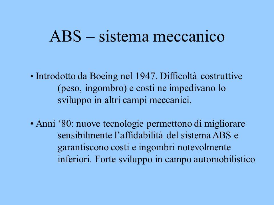 ABS – sistema meccanico