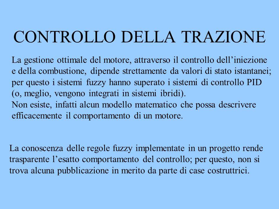 CONTROLLO DELLA TRAZIONE