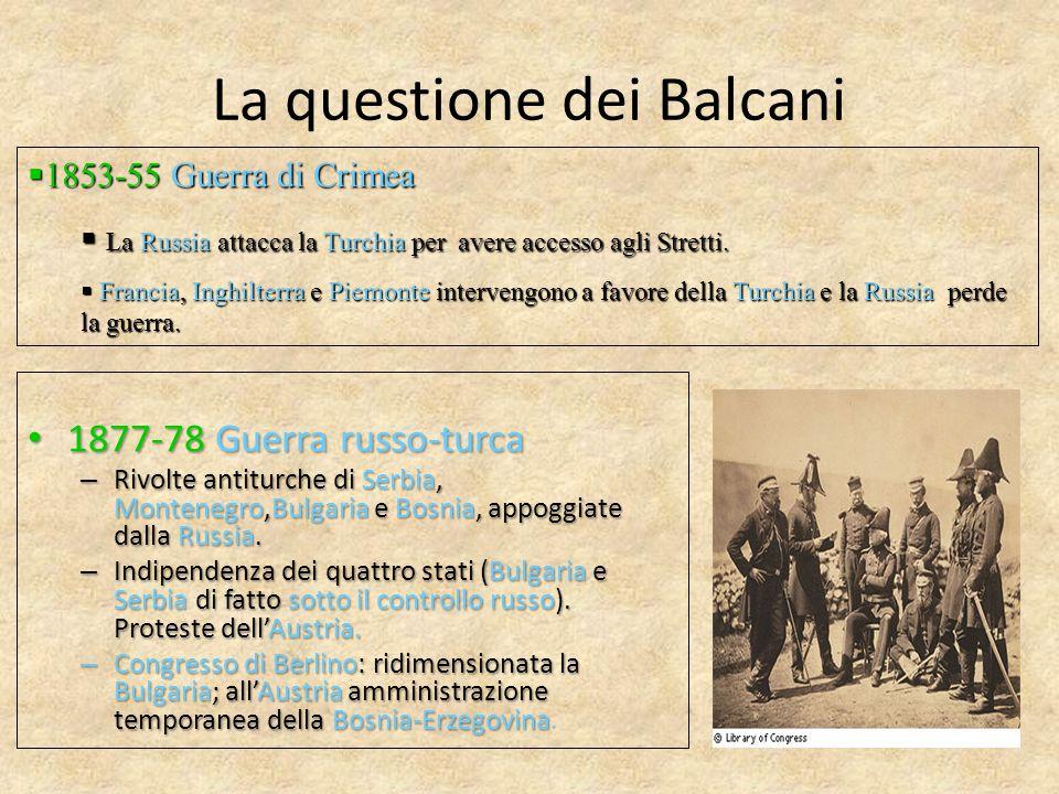La questione dei Balcani