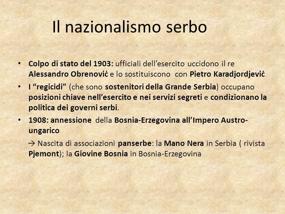 Il nazionalismo serbo