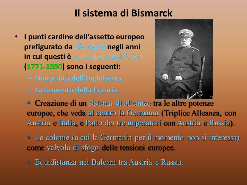 Il sistema di Bismarck