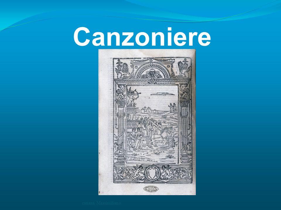 Canzoniere cananà Massimiliano