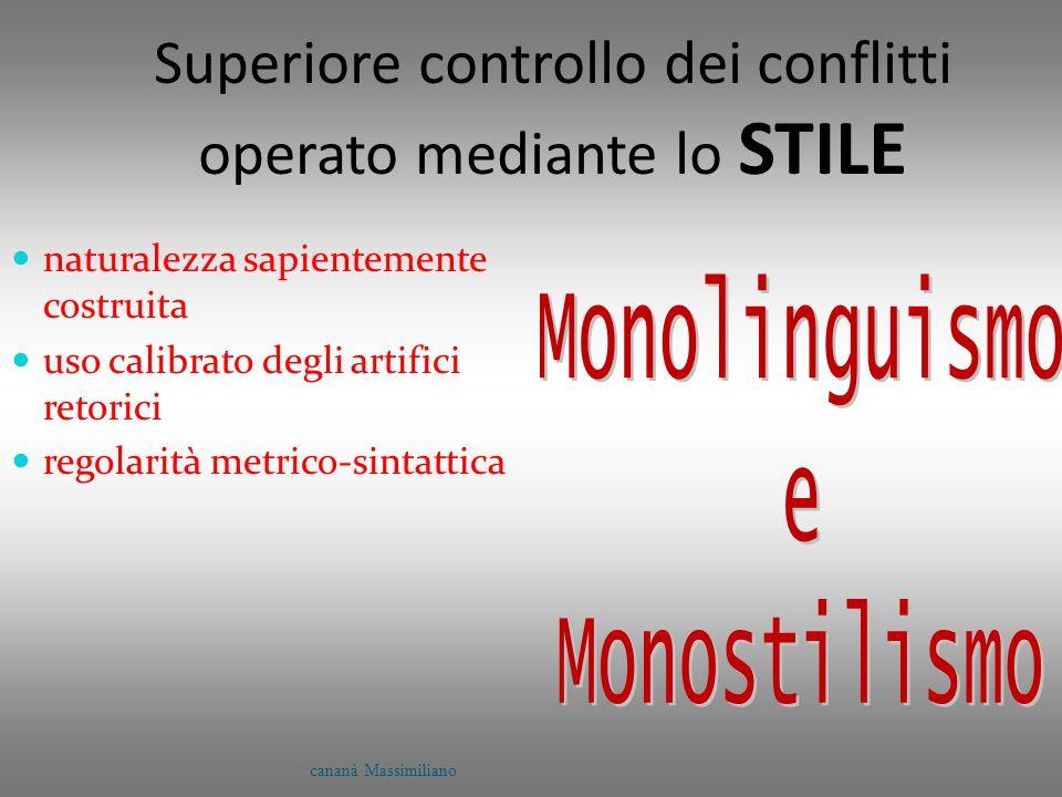 Superiore controllo dei conflitti operato mediante lo STILE