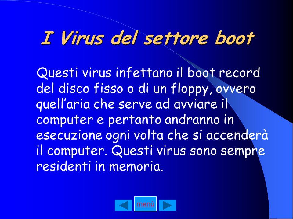 I Virus del settore boot