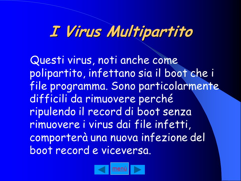 I Virus Multipartito