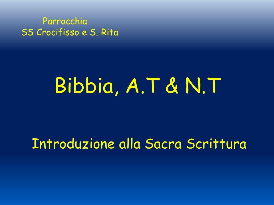 Introduzione alla Sacra Scrittura