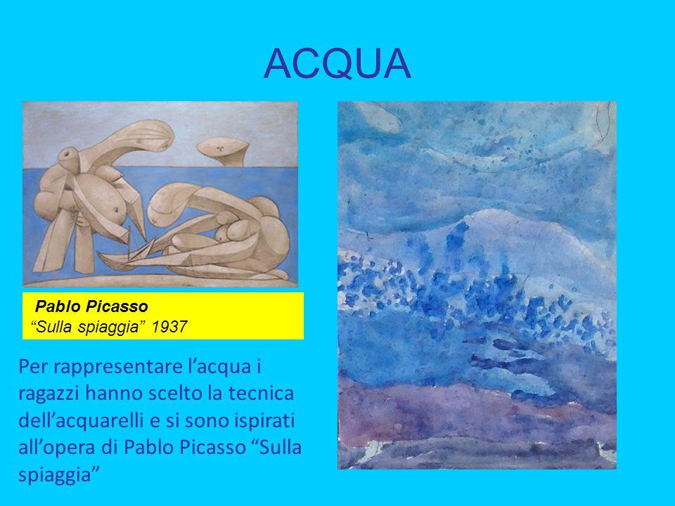 ACQUA Pablo Picasso Sulla spiaggia 1937.