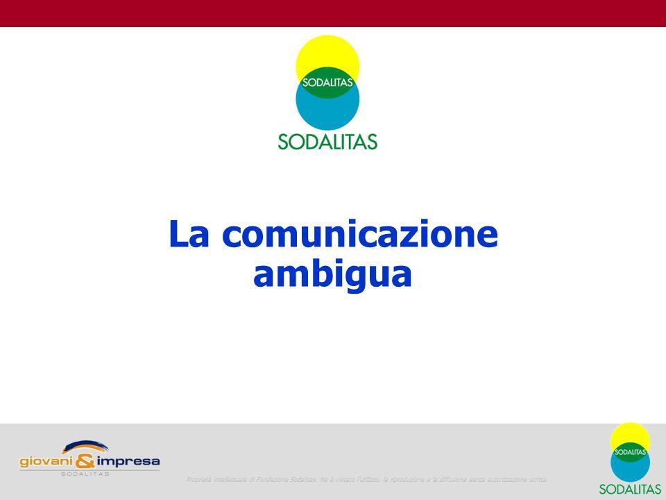 La comunicazione ambigua
