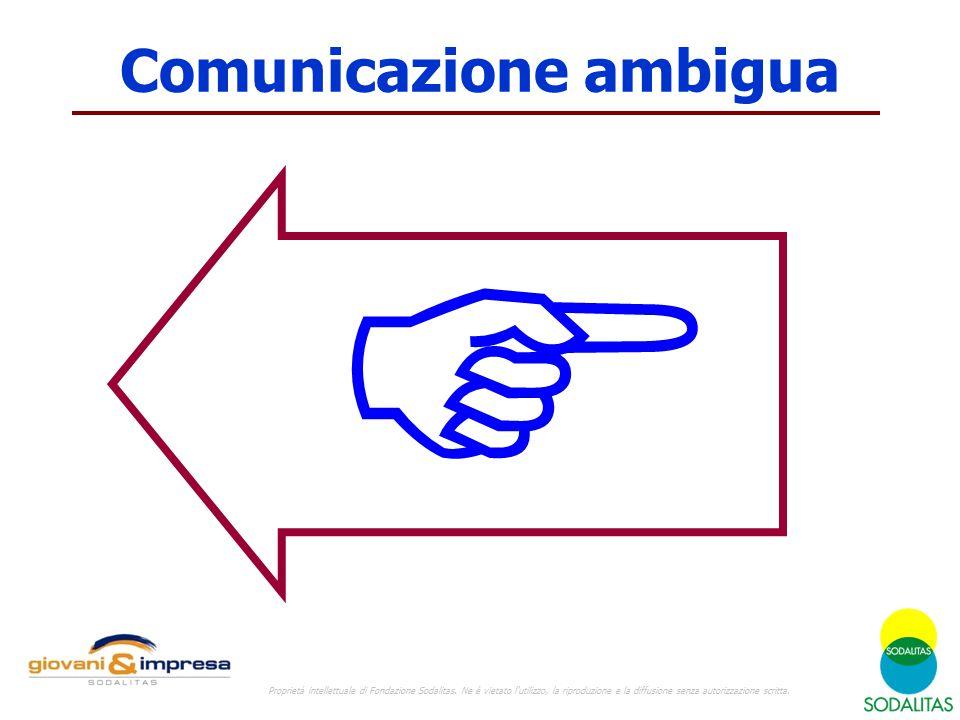 Comunicazione ambigua