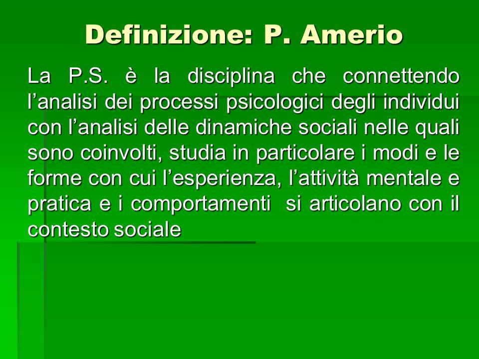 Definizione: P. Amerio