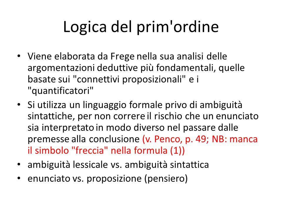 Logica del prim ordine