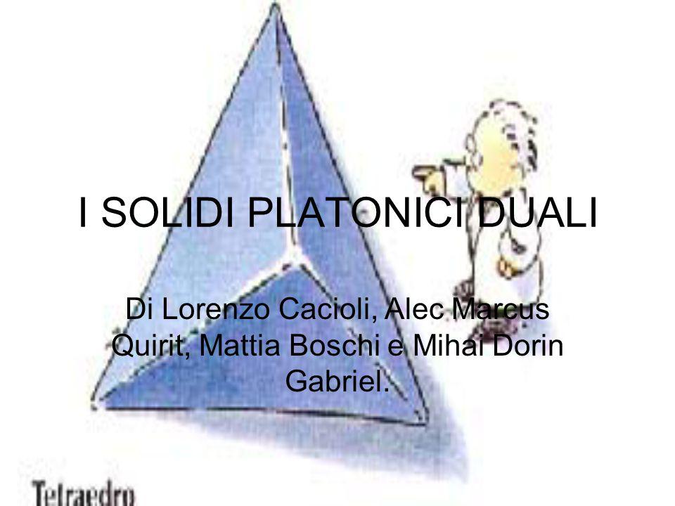 I SOLIDI PLATONICI DUALI