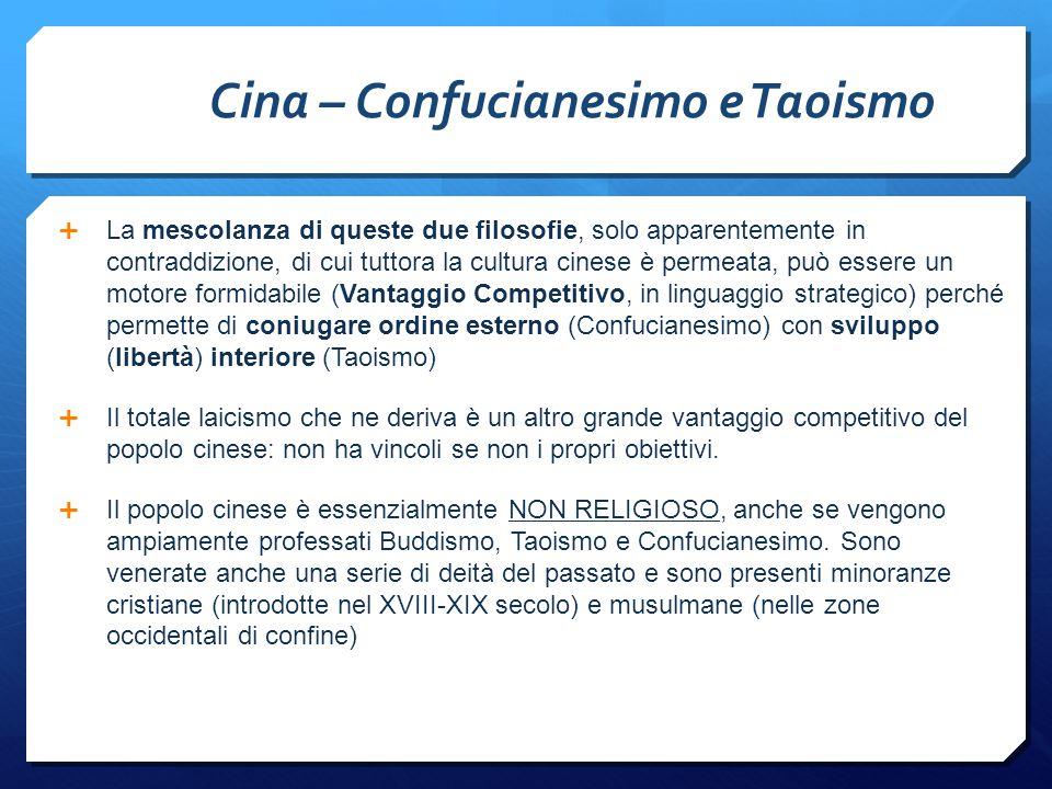 Cina – Confucianesimo e Taoismo