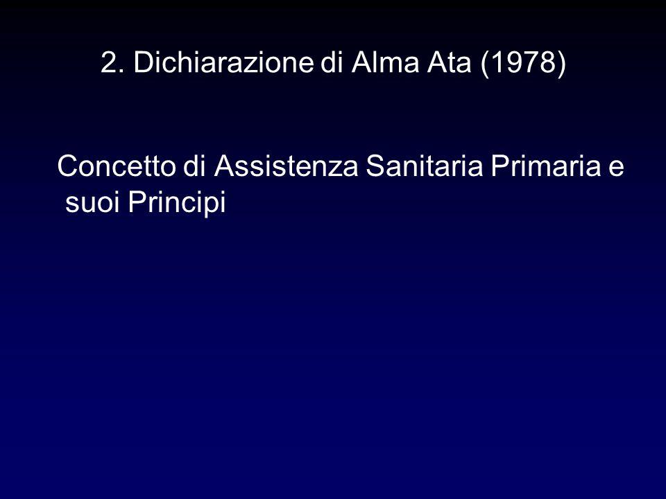 2. Dichiarazione di Alma Ata (1978)