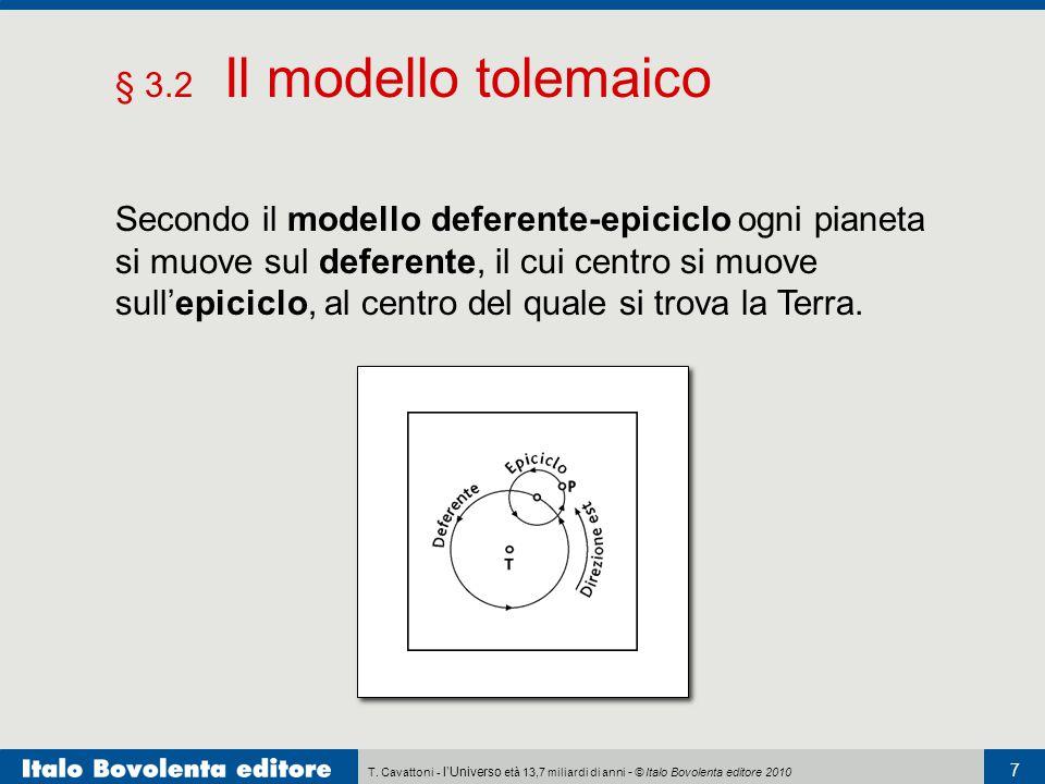 § 3.2 Il modello tolemaico