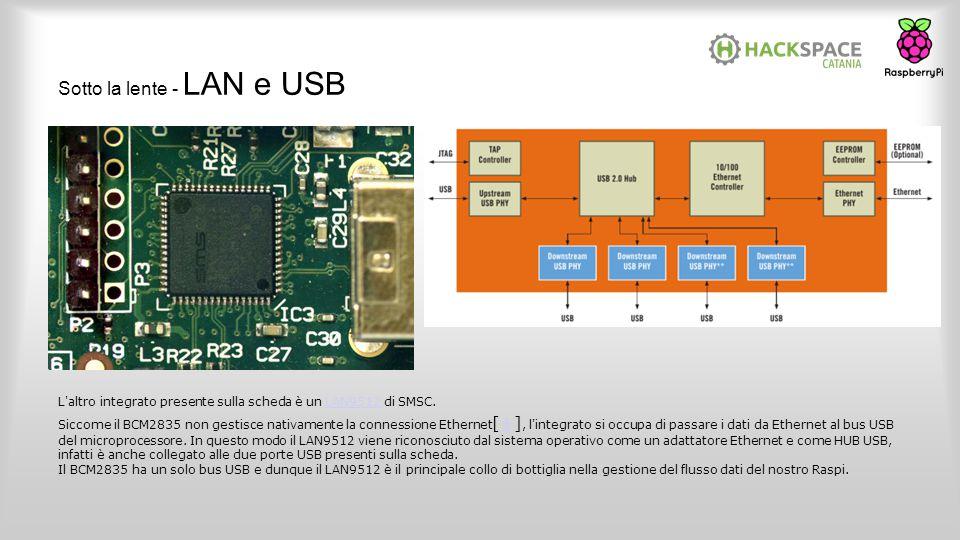 Sotto la lente - LAN e USB