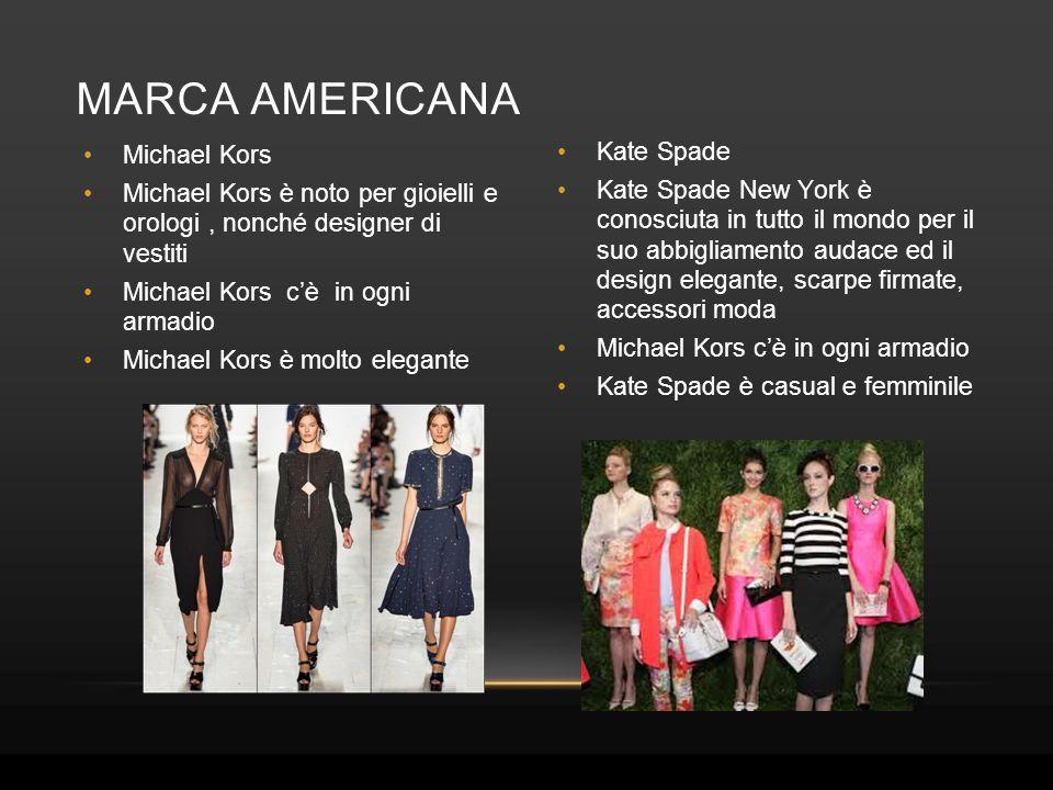 Marca Americana Michael Kors Kate Spade