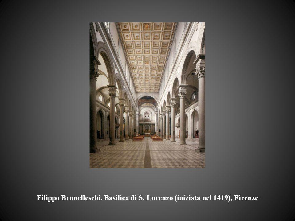 Filippo Brunelleschi, Basilica di S