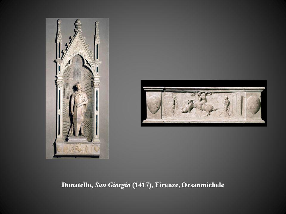 Donatello, San Giorgio (1417), Firenze, Orsanmichele