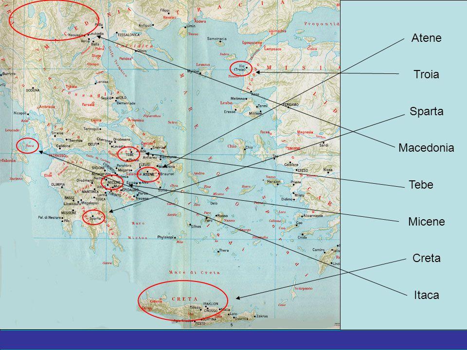 Atene Troia Sparta Macedonia Tebe Micene Creta Itaca 2