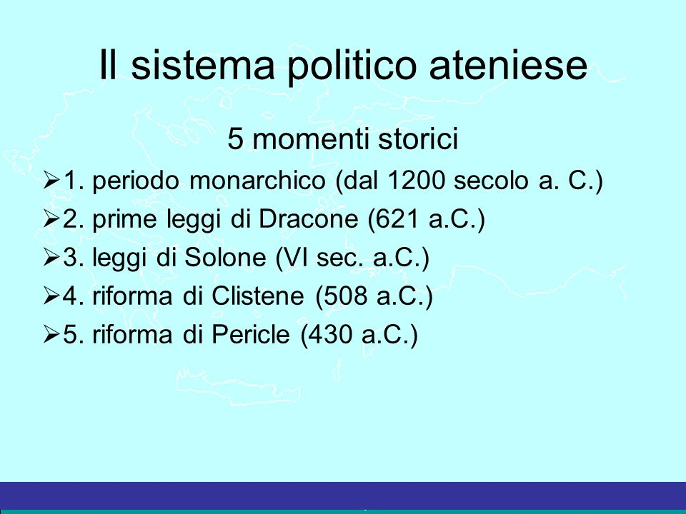 Il sistema politico ateniese