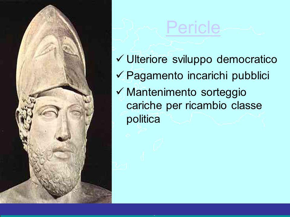 Pericle Ulteriore sviluppo democratico Pagamento incarichi pubblici