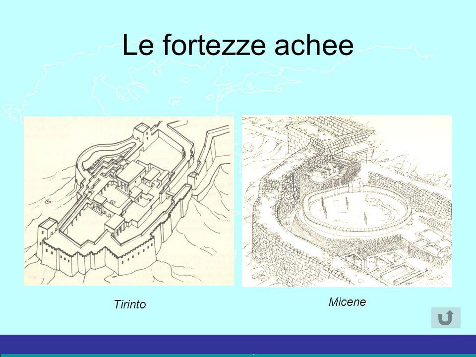 Le fortezze achee Tirinto Micene 33