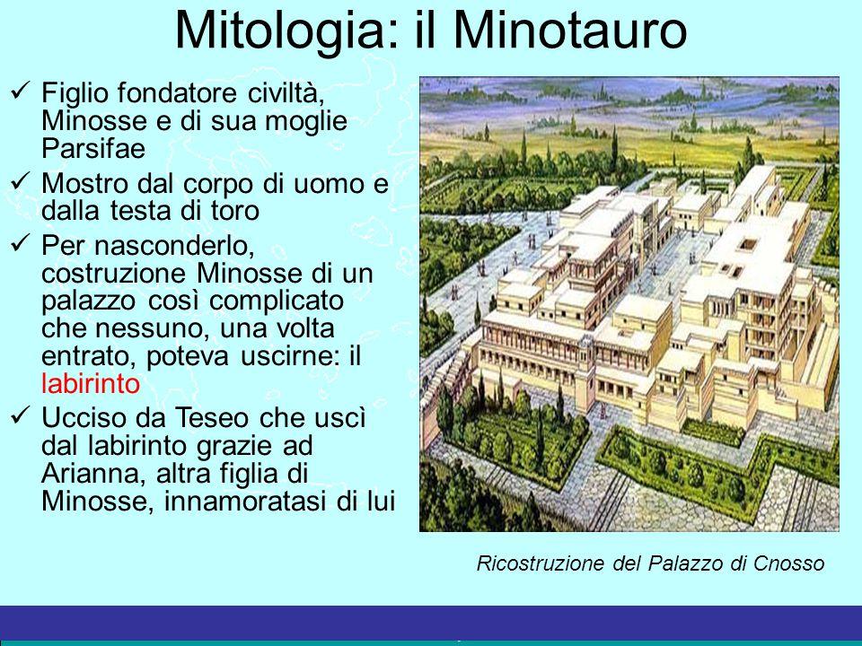 Mitologia: il Minotauro