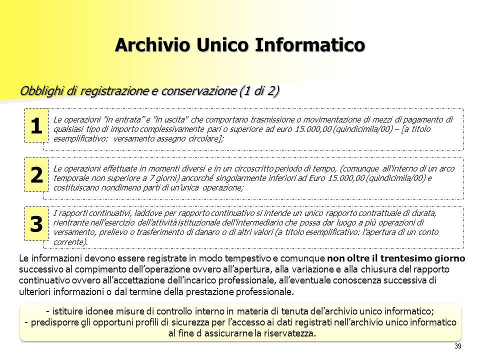 Archivio Unico Informatico