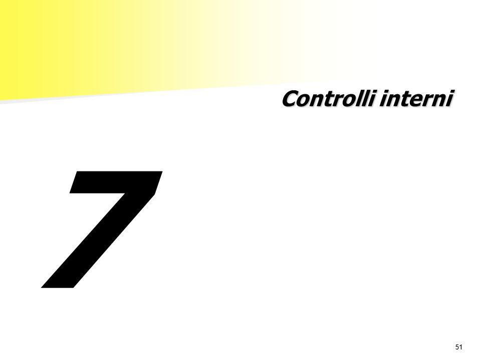 Controlli interni 7