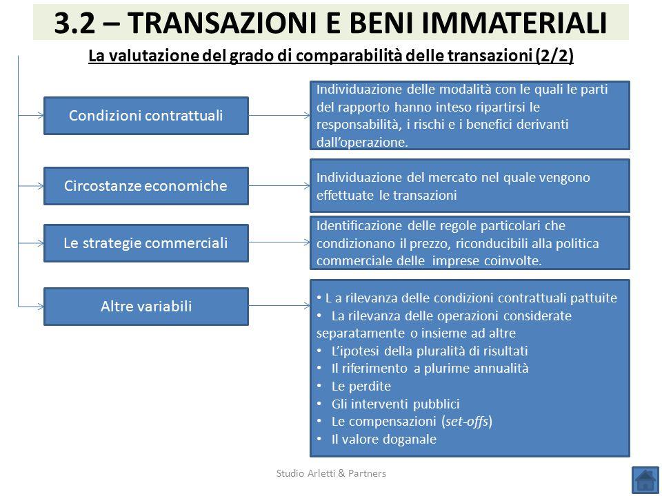 La valutazione del grado di comparabilità delle transazioni (2/2)