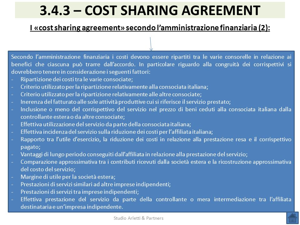 Transfer pricing corso acimac ucima assocomaplast 23 for 3 costo del garage indipendente