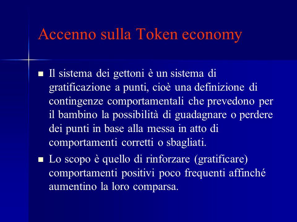 Accenno sulla Token economy