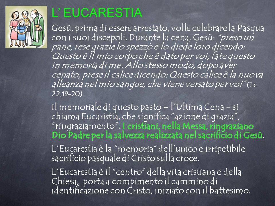 L' EUCARESTIA