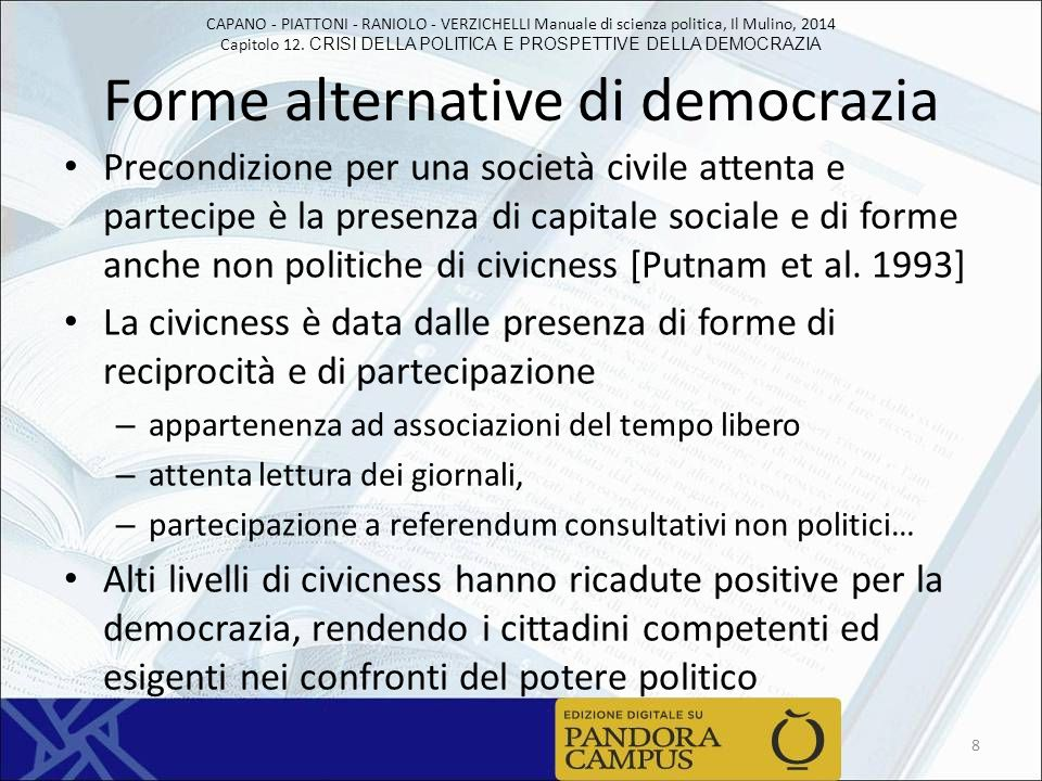Forme alternative di democrazia