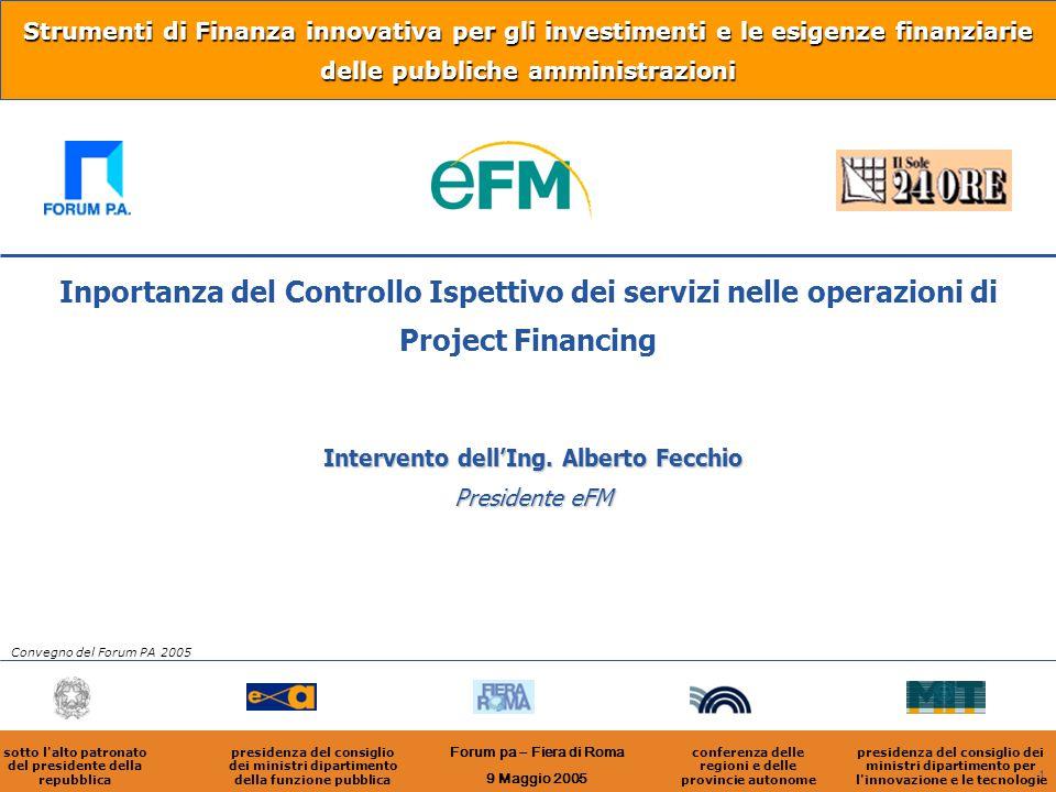Strumenti di Finanza innovativa per gli investimenti e le esigenze finanziarie delle pubbliche amministrazioni
