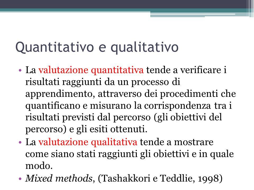 Quantitativo e qualitativo