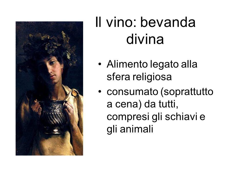 Il vino: bevanda divina