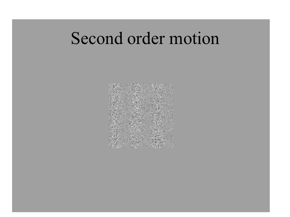 Second order motion