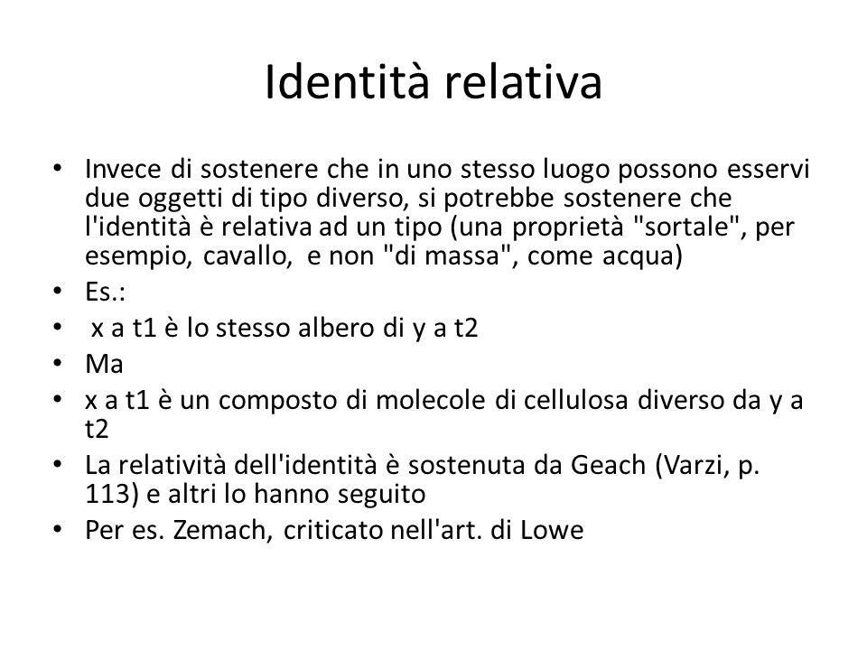 Identità relativa