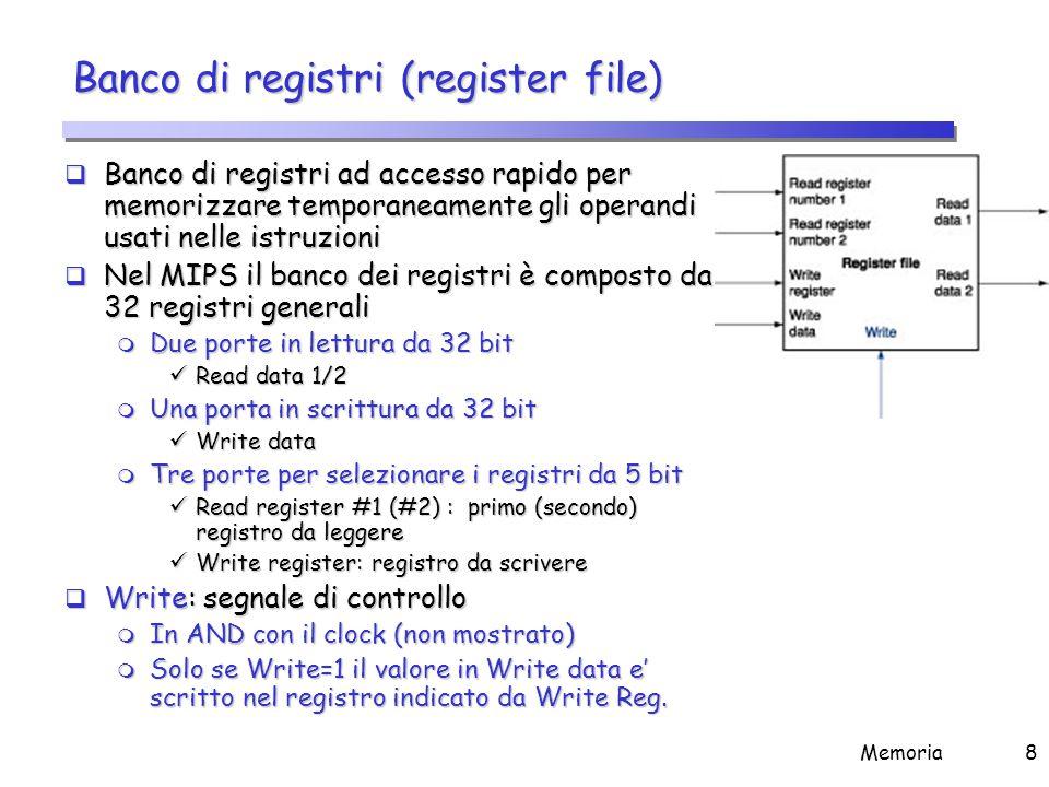 Banco di registri (2)