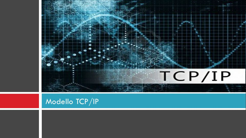Modello TCP/IP